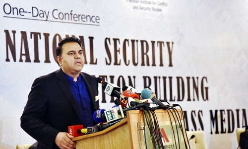 Active collaboration with global giants required to regulate social media: Fawad Chaudhry