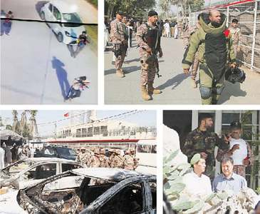 Attack on Chinese consulate in Karachi foiled, militants killed