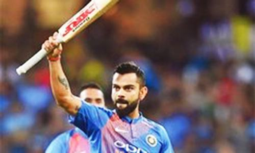 Kohli inspires India to draw T20 series Down Under