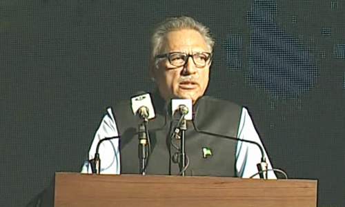 President Alvi opens defence expo IDEAS 2018 with message of peace