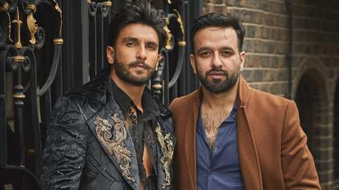 How Lahore designer Mohsin Naveed Ranjha got to dress Ranveer Singh for his latest Filmfare cover