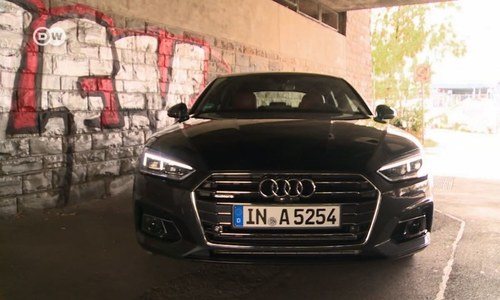 Taking the Audi A5 Sportback for a test drive