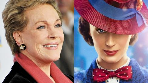 Julie Andrews was offered a cameo in the new Mary Poppins but turned it down
