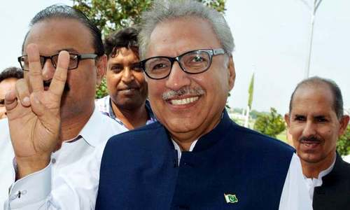 In light of 'pressure on rupee', President Alvi urges nation to buy local products