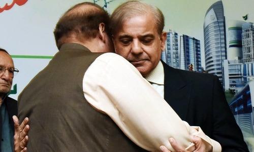 Nawaz, relatives meet Shahbaz at NAB office