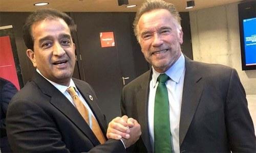 آرنلڈ شوازینگر پاکستان آنے کے لیے تیار