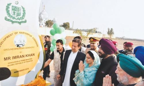 China hails opening of Kartarpur corridor