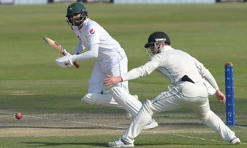 Pakistan 139-3 in reply to New Zealand's 274 in final Test