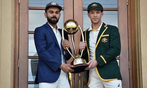 Never a dull moment: Australia-India test series set to go