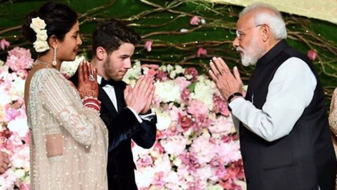 Narendra Modi wants everyone to know he went to Priyanka Chopra's wedding