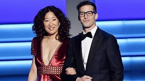 Andy Samberg and Sandra Oh will host the Golden Globes