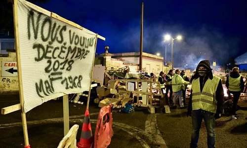 فرانس کی 'یلو ویسٹ' تحریک کو 'فیس بک' نے کیسے ایندھن فراہم کیا؟