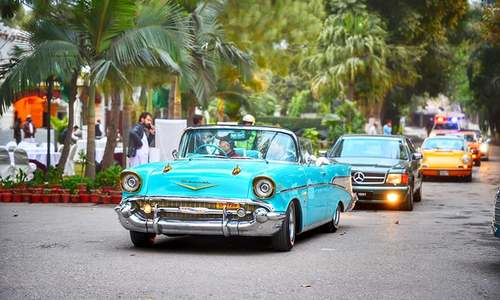 Blast from the past: Colourful vintage cars rekindle fond memories for many