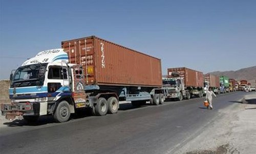 KP CM takes notice of collection of extortion money from Afghanistan-bound trucks