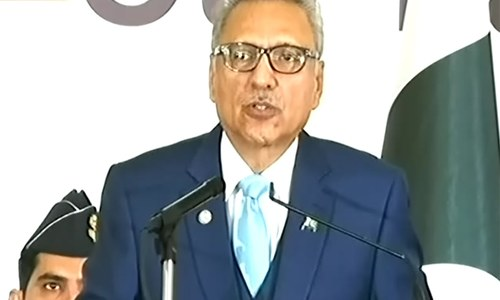 President Alvi urges citizens to play their part in fight against corruption