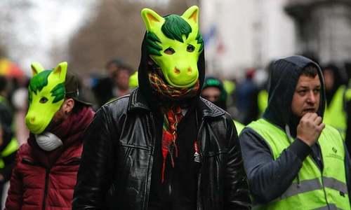فرانس کے بعد یورپ کے دیگر ممالک میں حکومت مخالف احتجاج