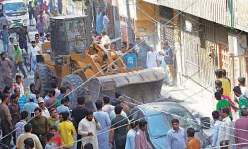 Karachi Circular Railway anti-encroachment operation to start from Tuesday: official