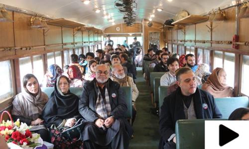 سفاری ٹرین میں پشاور سے اٹک تک کی سیر