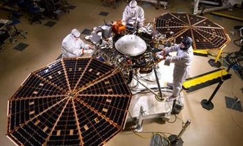 مریخ پر بھیجی گئی ناسا کی خلائی گاڑی پر پاکستانی کا نام