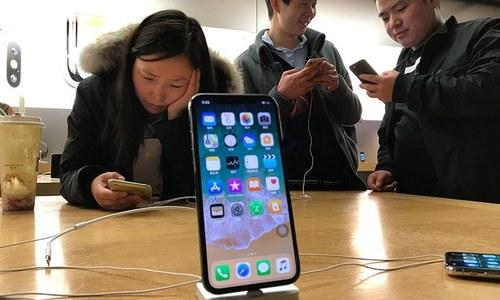 آئی فون کی چین میں فروخت پر پابندی عائد