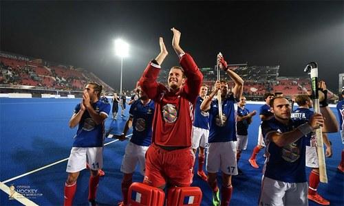 ہاکی عالمی کپ: انگلینڈ اور فرانس کوارٹر فائنل میں پہنچ گئے