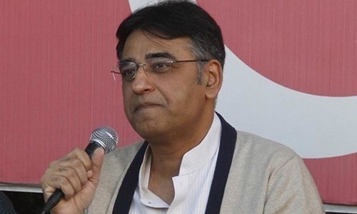 Finance Minister Asad Umar in the line of economic fire