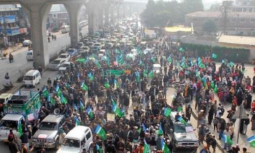 Rally held to condemn abuses in held-Kashmir