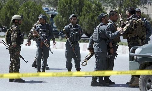 افغانستان: سیکیورٹی فورسز پر حملے میں 4 اہلکار ہلاک
