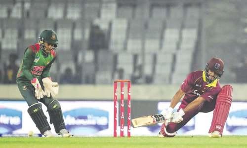 Ton-up Hope keeps West Indies alive in ODI series