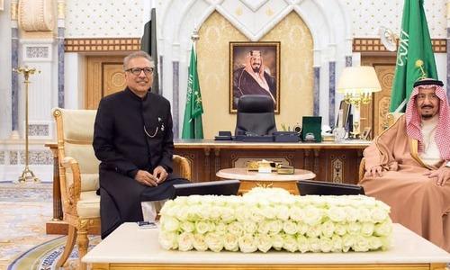 President Arif Alvi, Saudi King Salman discuss bilateral trade, economic relations