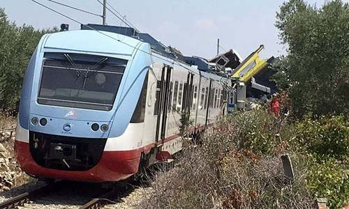 7 killed as train crashes in Ankara