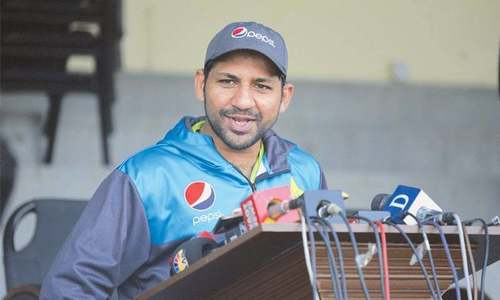 Sarfraz calls on squad to play 'without fear' in South Africa
