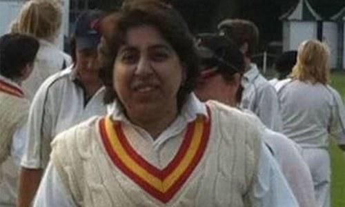 سابق وومن کرکٹر شرمین خان کو سپردخاک کردیا گیا