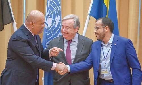 یمن کی حکومت اور حوثی باغی، حدیدہ میں جنگ بندی پر رضا مند