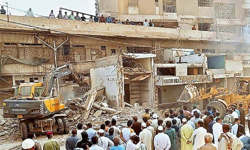 Karachi anti-encroachment drive: Balloting for affected shopkeepers to be held soon