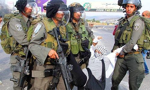 اسرائیلی فورسز نے 40 نہتے فلسطینیوں کو گرفتار کرلیا