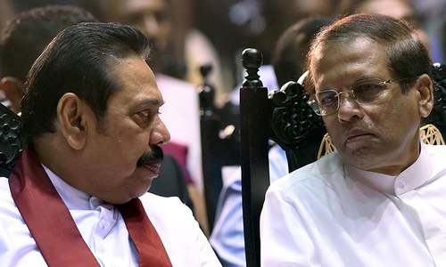 Sri Lanka's disputed premier Rajapakse to step down for 'stability of the nation'