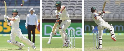 India fight back after Aussie openers' century stand