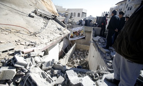 Israeli army razes home of Palestinian 'attacker'