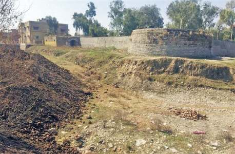 Department stopped from pulling down Haripur's historic fort