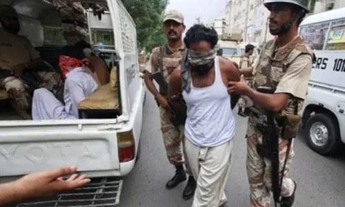 کراچی: بھتہ خوری کے الزام میں اورنگی ٹاؤن  سے 3 ملزم گرفتار