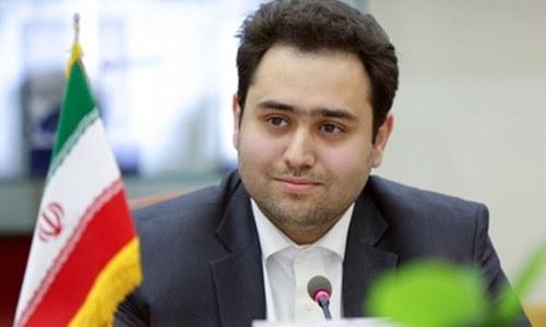 ایرانی صدر کے داماد کو محکمے کا سربراہ تعینات کرنے پر نیا تنازع