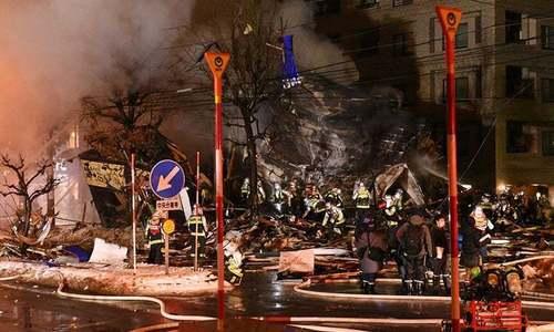 جاپان: ریسٹورنٹ میں دھماکا، خواتین سمیت 42 افراد زخمی
