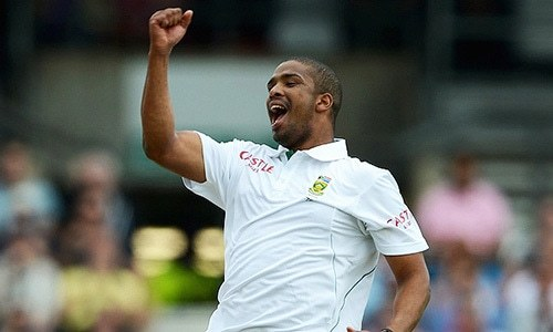 Hand injury rules Philander out of first Pakistan Test