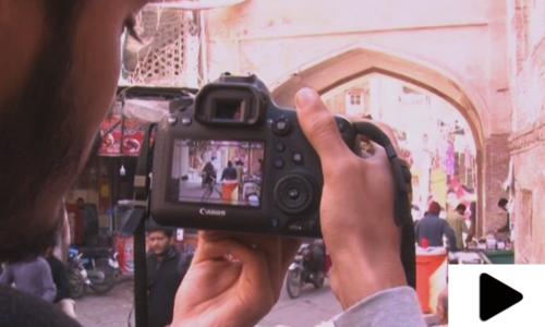 اندرون لاہور فوٹوگرافی کے شوقین افراد کی توجہ کا مرکز