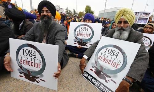 بھارت: 1984 فسادات میں سکھوں کے قتل کے جرم میں کانگریس رہنما کو عمرقید