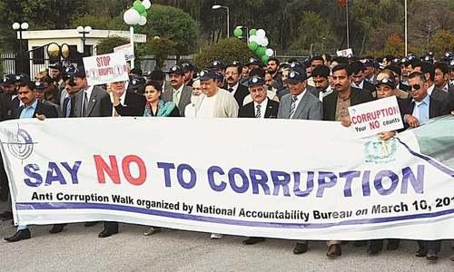 Anti-corruption week observed in Balochistan