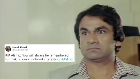 Veteran actor Ali Ejaz passes away at 77