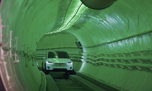 Elon Musk bores tunnel to revolutionise city driving