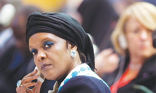 South Africa issues arrest warrant for Zimbabwe's ex-first lady